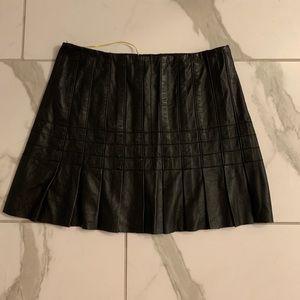 Catherine Malandrino leather skirt